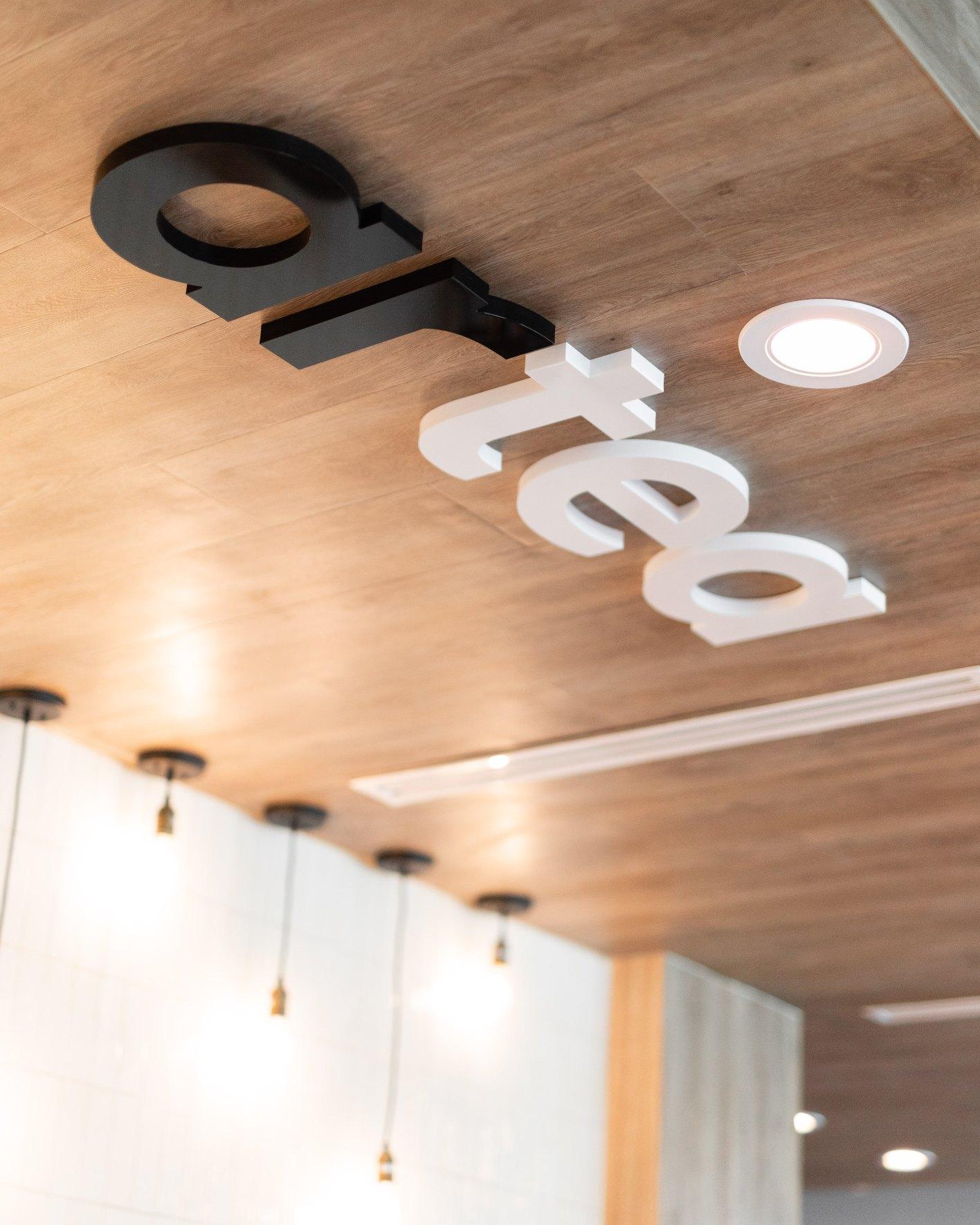 Artea Logo in Ceiling